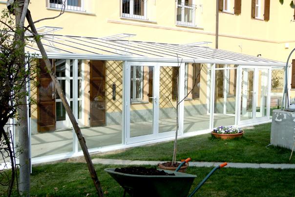 Euroserre italia verande per esterno verande da - Verande per giardino ...