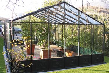 Euroserre italia serre professionali serre per orto for Serre da giardino policarbonato