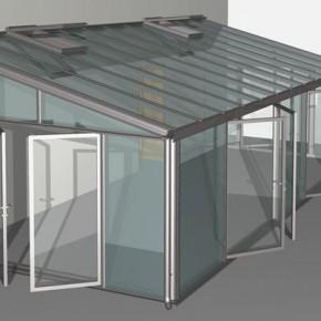 Euroserre italia verande e giardini d 39 inverno per - Vetri termici per finestre ...